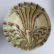 Load image into Gallery viewer, Cream Marble Effect Clay Bowl - Casa De Folklore