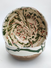 Load image into Gallery viewer, Cream Marled Bowl