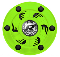 Rocket Puck Neon Green/Black