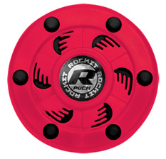 Rocket Puck Neon Pink/Black