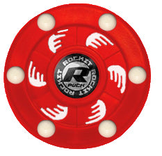 Rocket Puck Red/White