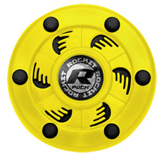 Rocket Puck Yellow/Black