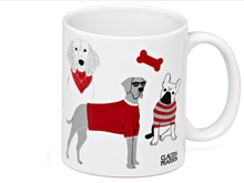 Load image into Gallery viewer, Groovy Dogs Coffee Mug
