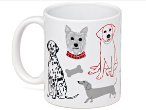 Groovy Dogs Coffee Mug