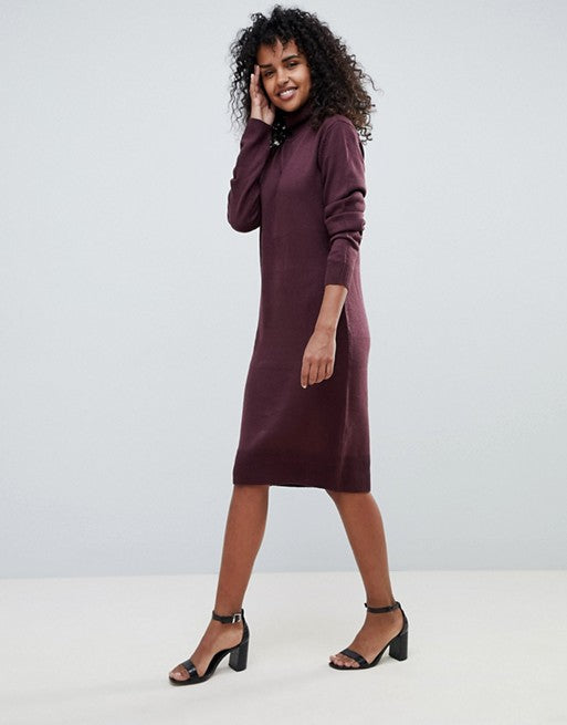 Pulover JDY - High Neck Jumper Dress