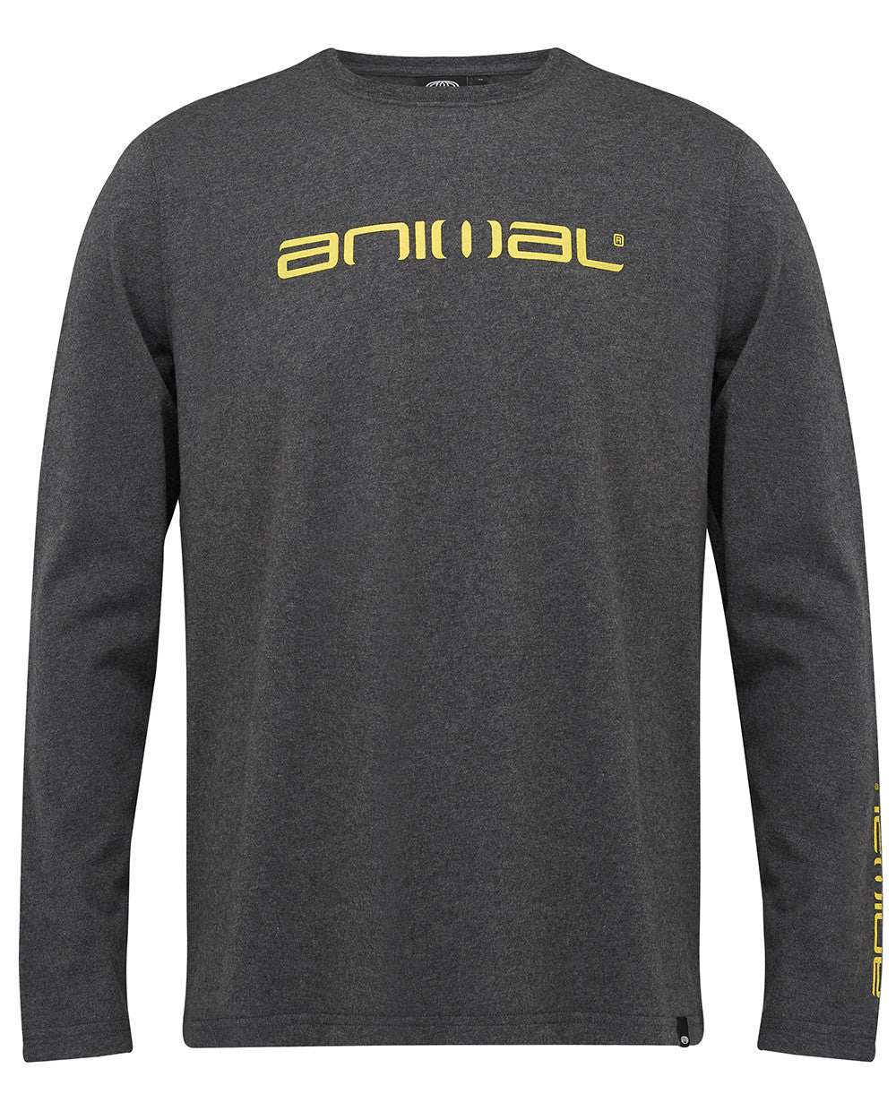 Bluză Animal Long Sleeve Tee- Grey-Yellow