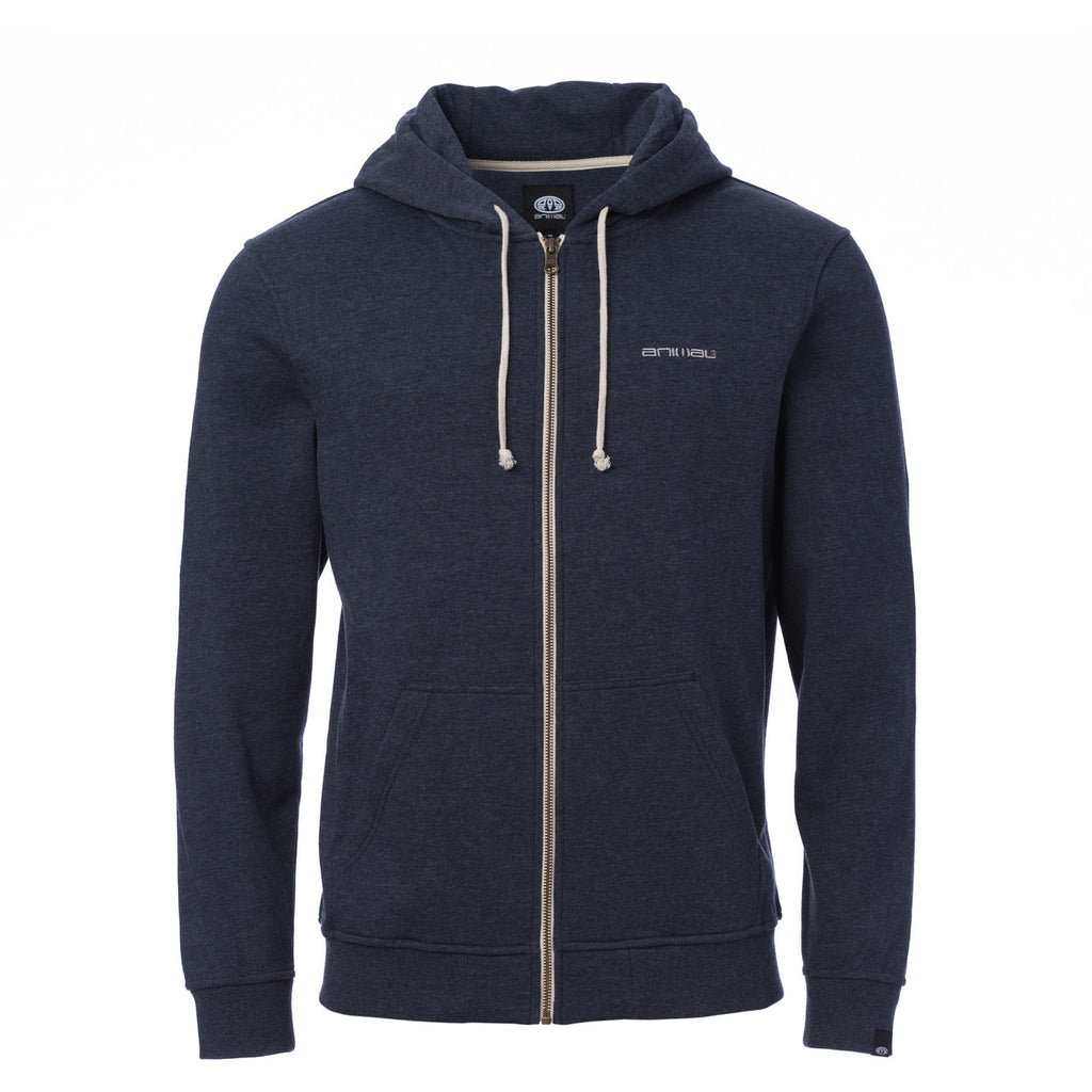 Hanorac Animal Zip Through Hoody Bedrock