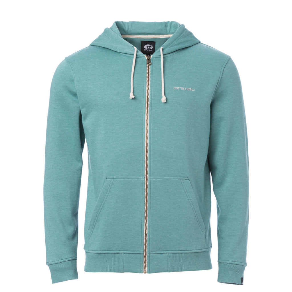 Hanorac Animal Zip Through Hoody Bedrock-Green