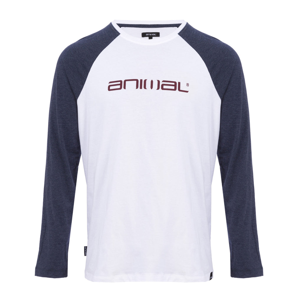 Bluză Animal Long Sleeve Tee Action- White