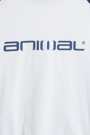 Bluză Animal - Long Sleeve Tee Action - White