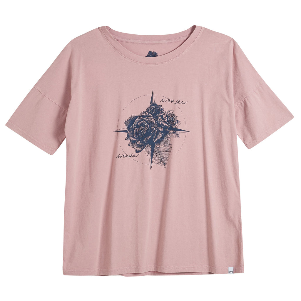Tricou Animal - Deluxe Graphic Te Navigated - Woodrose