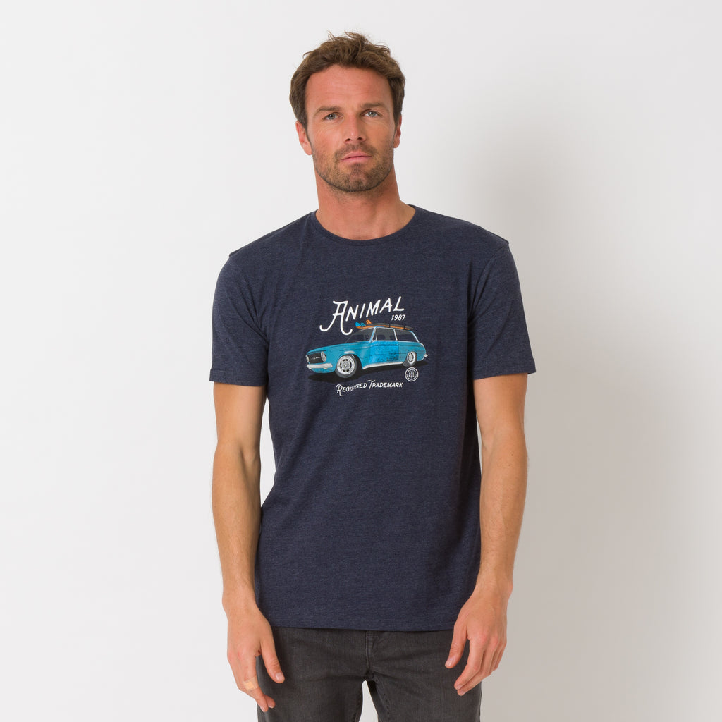 Tricou Animal - Trip- Dark Navy Marl