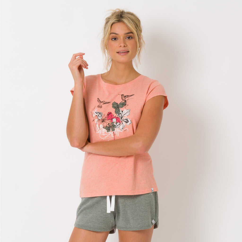Tricou Animal- Spirit Animal- Sunset Pink