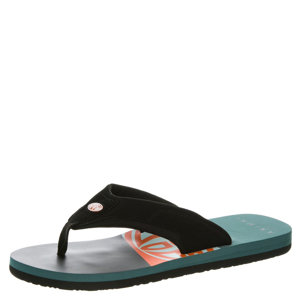Șlapi Animal - Flip Flop 002 - Black - FM6SJ006 002