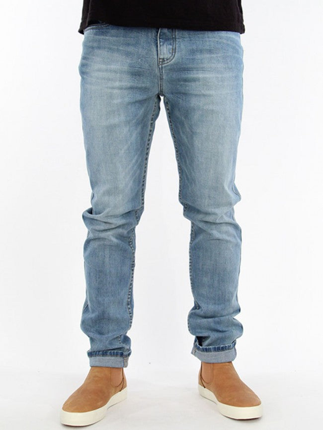 Pantaloni Globe-G.03 Tapered Slim-Daybreak Blue-GB01736008