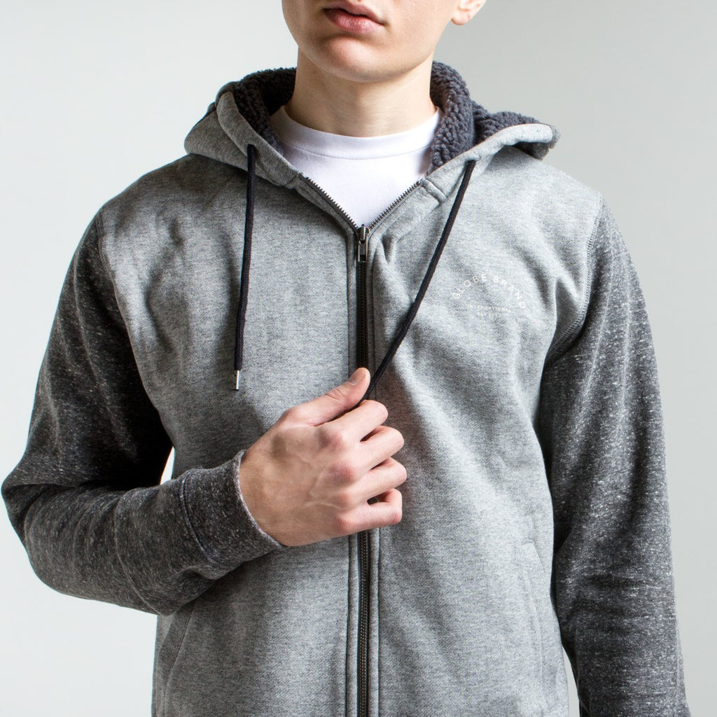 Hanorac Globe - Maverick Hoodie - Grey Heather - GB01733030