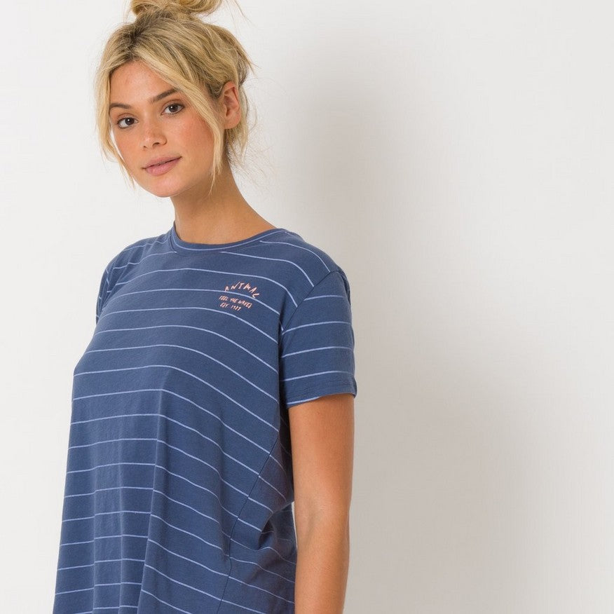 Tricou Animal Tracker- Vintage Indigo Blue