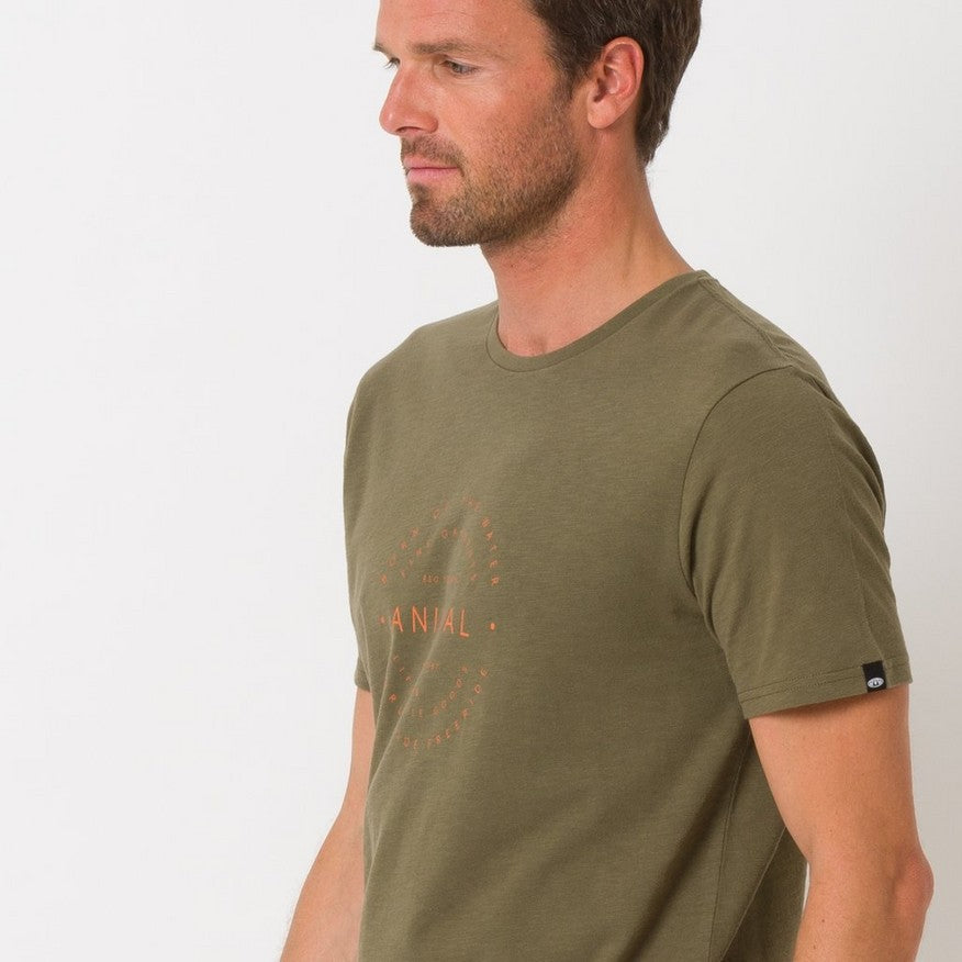 Tricou Animal- United- Dusty Olive Green