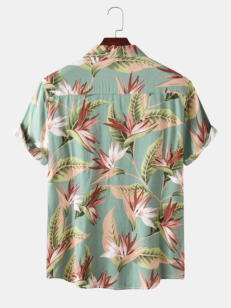Floral Vacation Summer Shirt