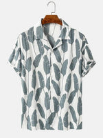 Load image into Gallery viewer, Grey Plantains Summer Shirt