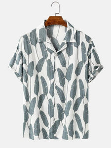 Grey Plantains Summer Shirt