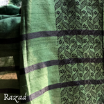 Load image into Gallery viewer, Leafy Border Cotton Silk Dupatta