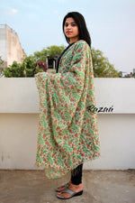 Load image into Gallery viewer, Cotton Silk Hand Printed Dupatta