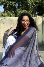 Load image into Gallery viewer, Blue Berry Liva Dupatta