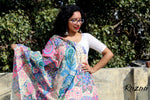 Load image into Gallery viewer, Magical Paisley Blooms Textured Dupatta