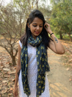 Load image into Gallery viewer, Mulmul Cotton Printed Scarf