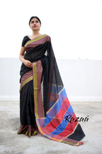 Load image into Gallery viewer, Black Magic Liva Saree