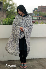 Load image into Gallery viewer, Leopard Print Cotton Scarf