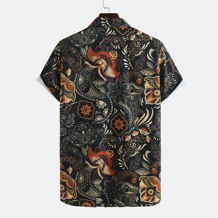 Paisley Boho Summer Shirt