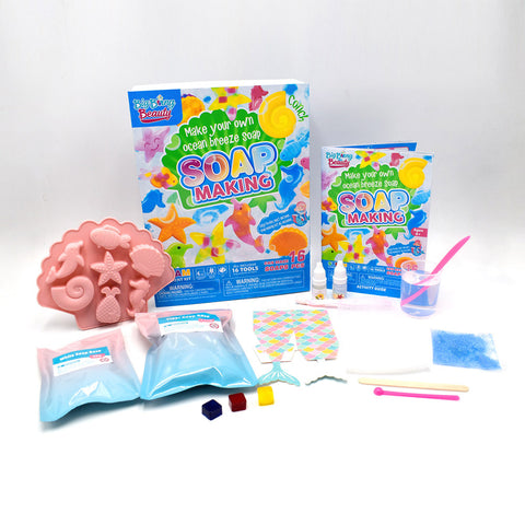 Ocean Soap Making Science DIY Kit