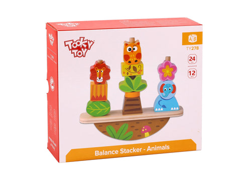 Balance Stacker - Animals Tooky Toy
