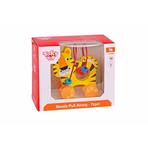 Beads Pull Along - Tiger Tooky Toy