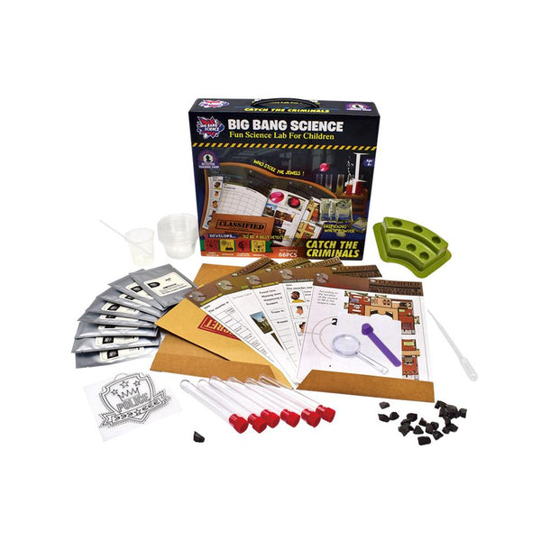 Catch The Criminals DIY Kit The Creative Scientist