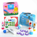 Children's Finger Paint Kit JarMelo