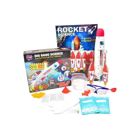Cosmic Jet Rocket DIY Kit The Creative Scientist