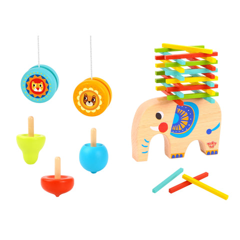 Elephant Stacking Game Tooky Toy