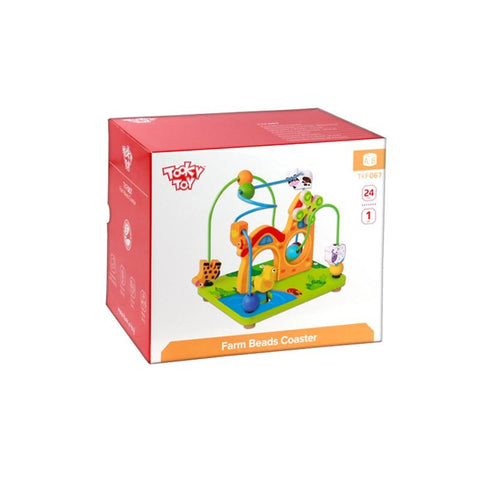 Farm Beads Coaster Tooky Toy