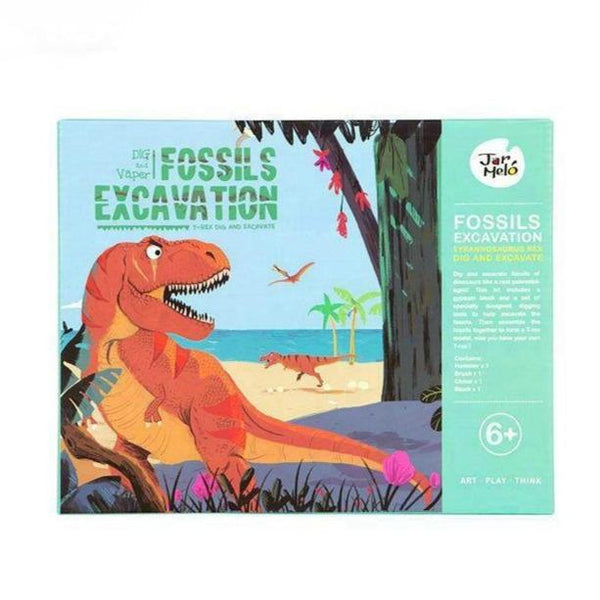 Fossils Exavation Kit JarMelo