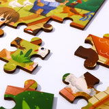 High-Quality Wooden Puzzle Tooky Toy