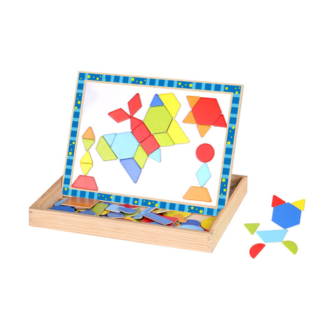 Magnetic Puzzle - Shapes Tooky Toy
