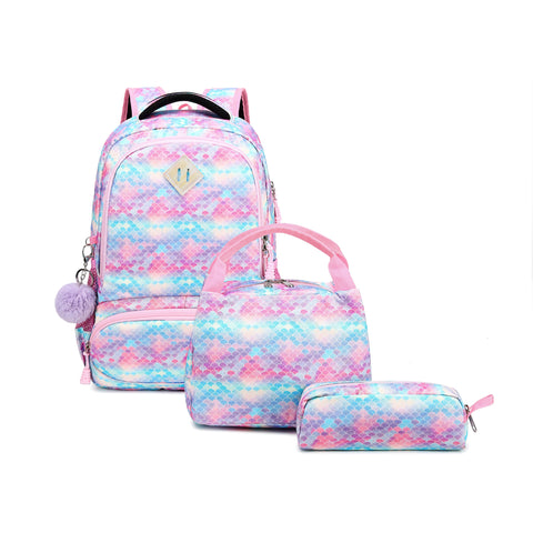 Mermaid School Bagpack Trio Kids Singapore