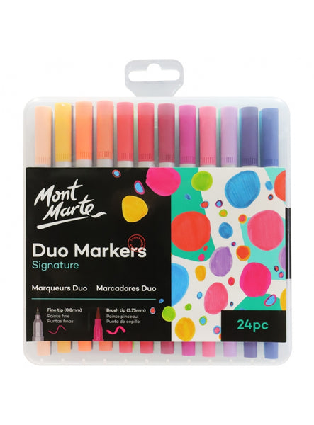 Signature Duo Markers 24pc
