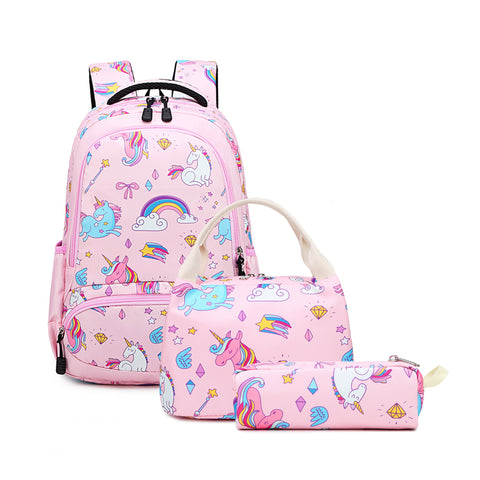 Pink Unicorn Kids School Backpack Trio Kids Singapore
