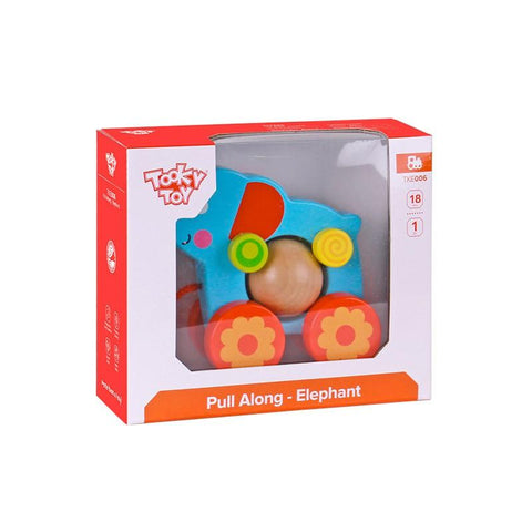 Pull Along - Elephant Tooky Toy