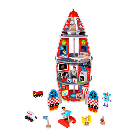 Rocket Ship Tooky Toy