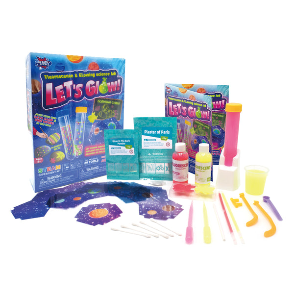Lets Glow Fluorescent Science DIY Kit